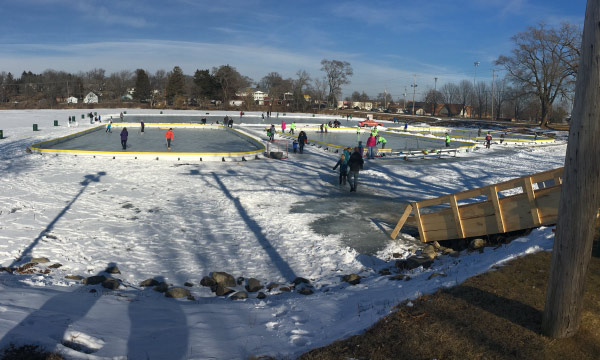 Ice Rink Construction Complete