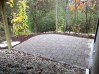 Paved Driveway - Patio Entryway